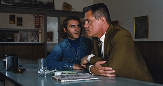 "<p><strong>INHERENT VICE<br /></strong></p><p><strong>Director:</strong> Paul Thomas Anderson<br /><strong>Country:</strong> USA<br /><strong>Running Time:</strong> 148</p><p><strong>AFI says: </strong><em>Inherent Vice</em> is the seventh feature from director Paul Thomas Anderson and the first film adaptation of a Thomas Pynchon novel. It&rsquo;s the tail end of the &lsquo;60s and drug-fueled paranoia is running the day. P.I. Doc Sportello (Joaquin Phoenix) knows that &ldquo;love&rdquo; is one of those overused words&mdash;like &ldquo;trip&rdquo; or &ldquo;groovy&rdquo;&mdash;that usually leads to trouble. When Doc&rsquo;s ex-girlfriend (Katherine Waterston) shows up with a story about a plot against her billionaire boyfriend, the plot thickens. With a cast of characters that includes surfers, hustlers, dopers, rockers, a murderous loan shark, LAPD detectives, a sax player working undercover and a mysterious entity known as Golden Fang&mdash;which may only be a tax dodge set up by some dentists&mdash;<em>Inherent Vice</em> is part surf noir, part psychedelic romp and pure Pynchon.</p><p><a href=""http://www.timeout.com/los-angeles/film/inherent-vice""><span class=""date"">Read Time Out's full review.</span></a></p><p><strong><span class=""venue"">Egyptian</span>, <span class=""date"">Nov. 8, 6:30pm</span></strong></p><p><strong><span class=""date"">Egyptian, Nov. 8, 10:30pm </span></strong></p><p><br /><strong>Watch the trailer:</strong><br /><br /><iframe src=""http://www.youtube.com/embed/OUZgOQ186-A"" frameborder=""0"" width=""560"" height=""315""></iframe></p>"