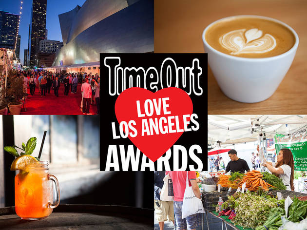 Time Out Love Los Angeles Awards 2014: the results