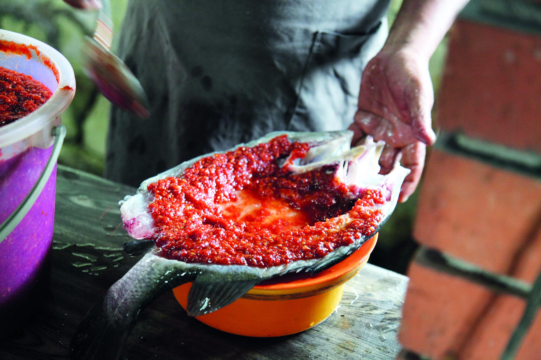 Ikan bakar with nasi lemak