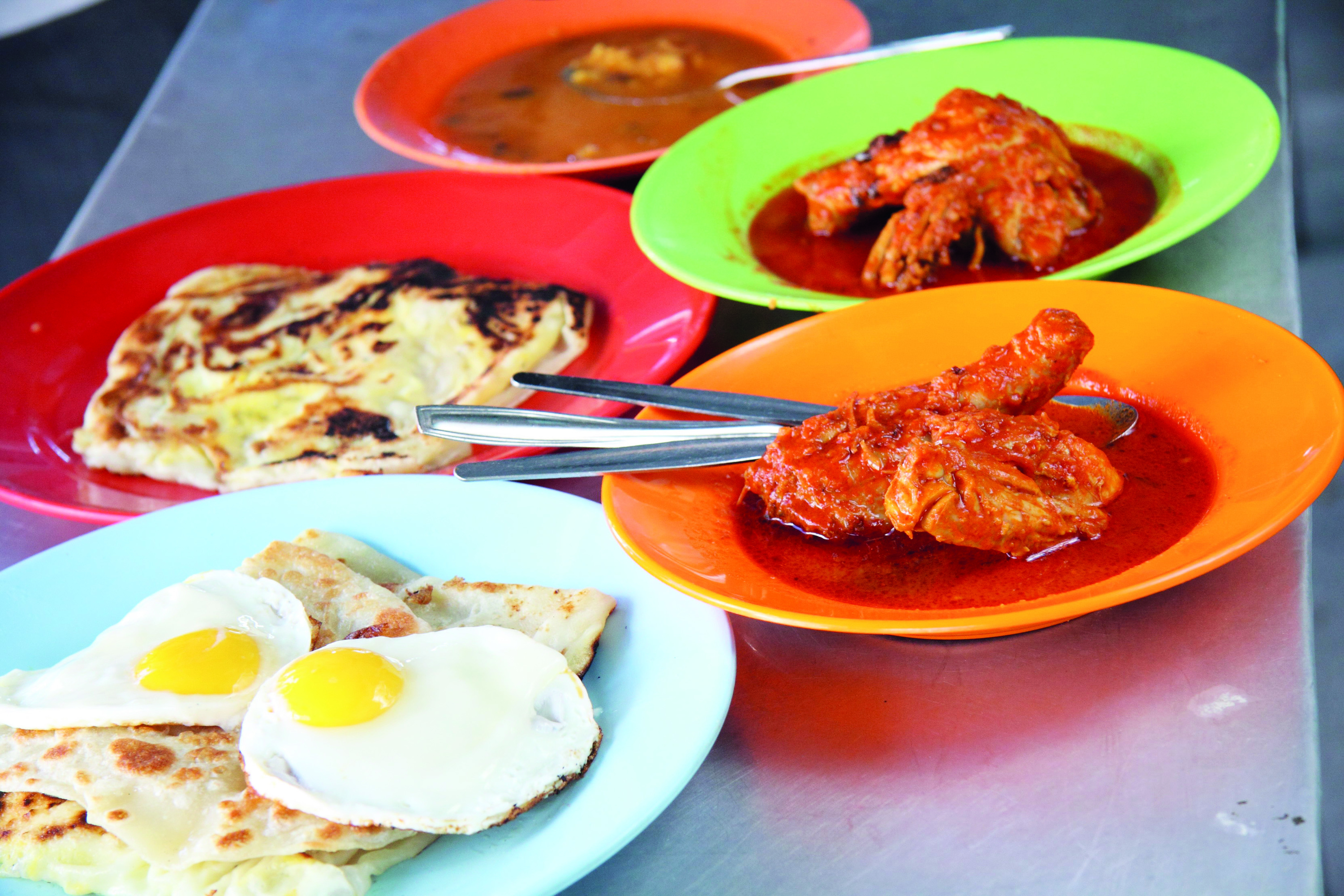 6am-7am: Special Famous Roti Canai
