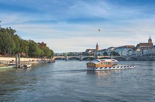 Basel Christmas ferry