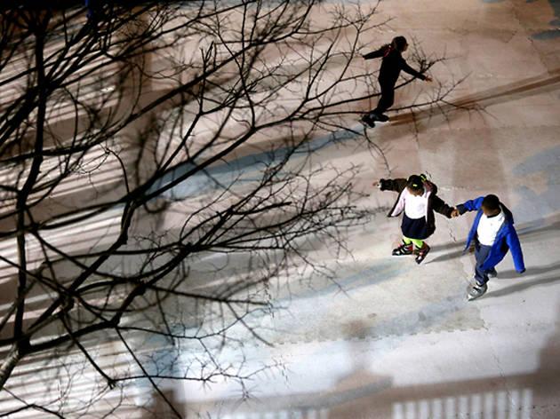 Winterville ice rink