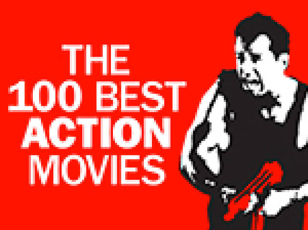 The 100 best action movies logo, 150x113