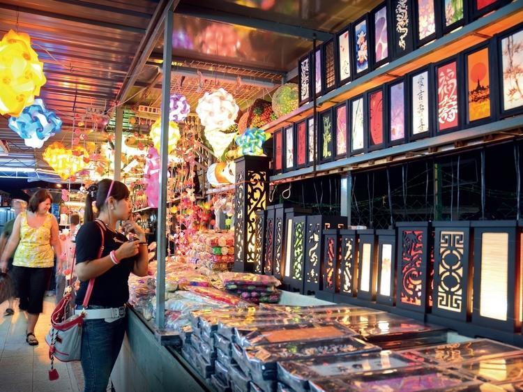 Night markets in Penang