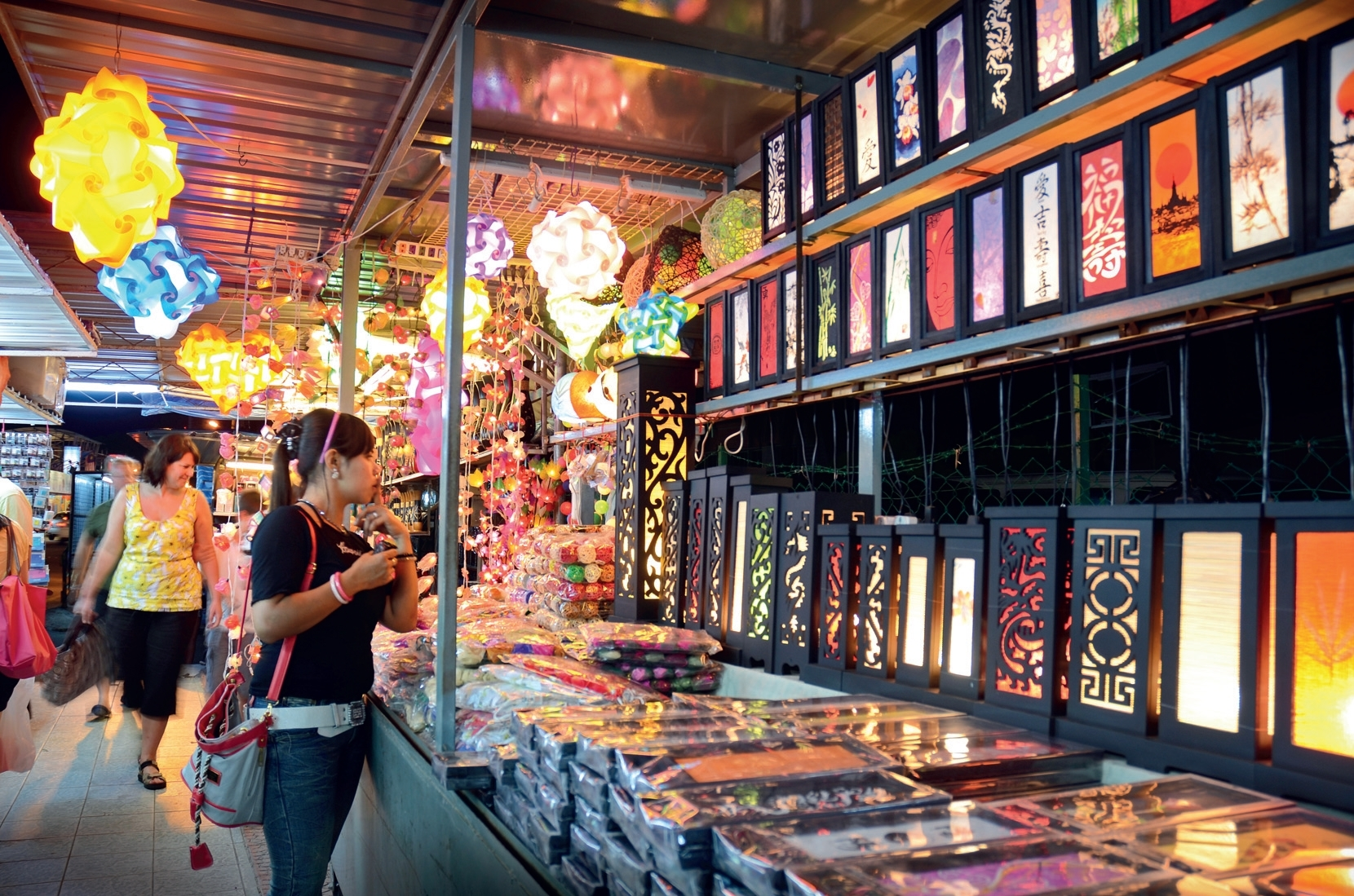Night markets in Penang
