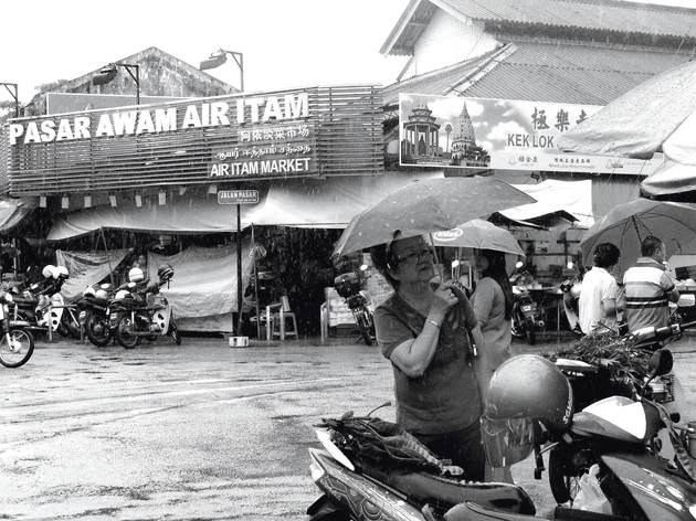 Air Itam day market