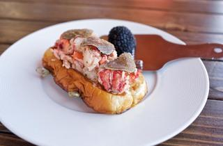 Lobster roll at The Anchor Venice