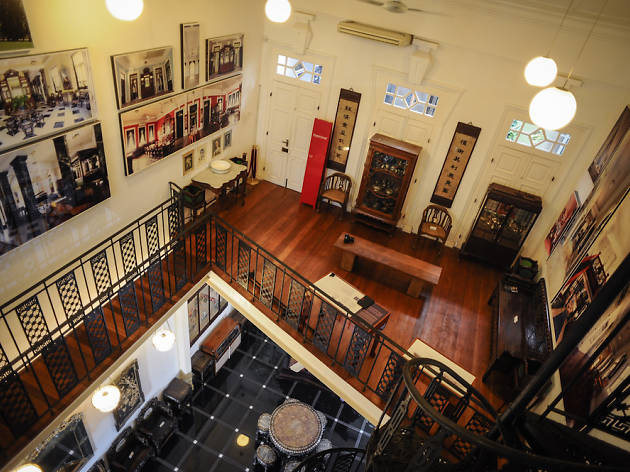 Imagine the past grandeur of 19th-century Peranakan home