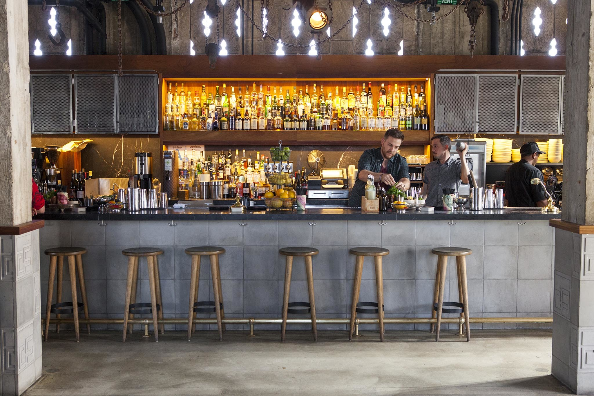 Upstairs Bar at the Ace hotel