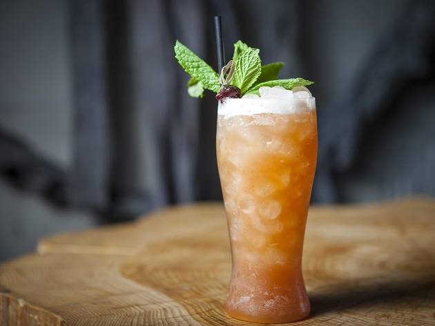 Kentucky Mai Tai at Upstairs
