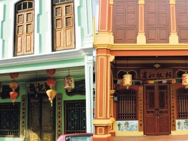 Refurbished heritage buildings
