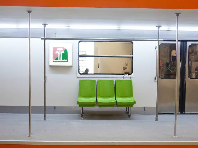 Estaciones de Metro Etiopía y Viveros