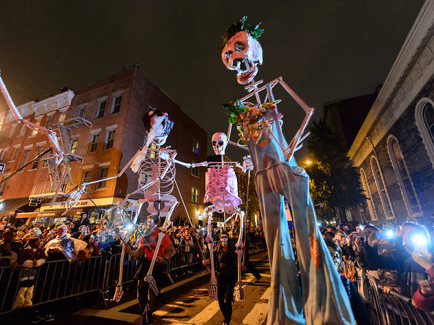 New York City Halloween 2020 Village Halloween Parade in NYC 2020
