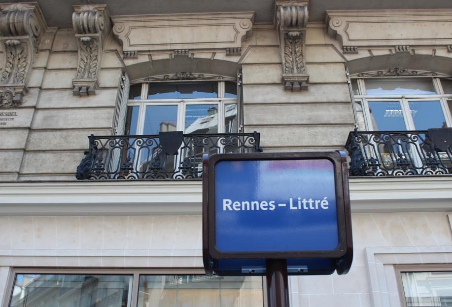 La rue de Rennes