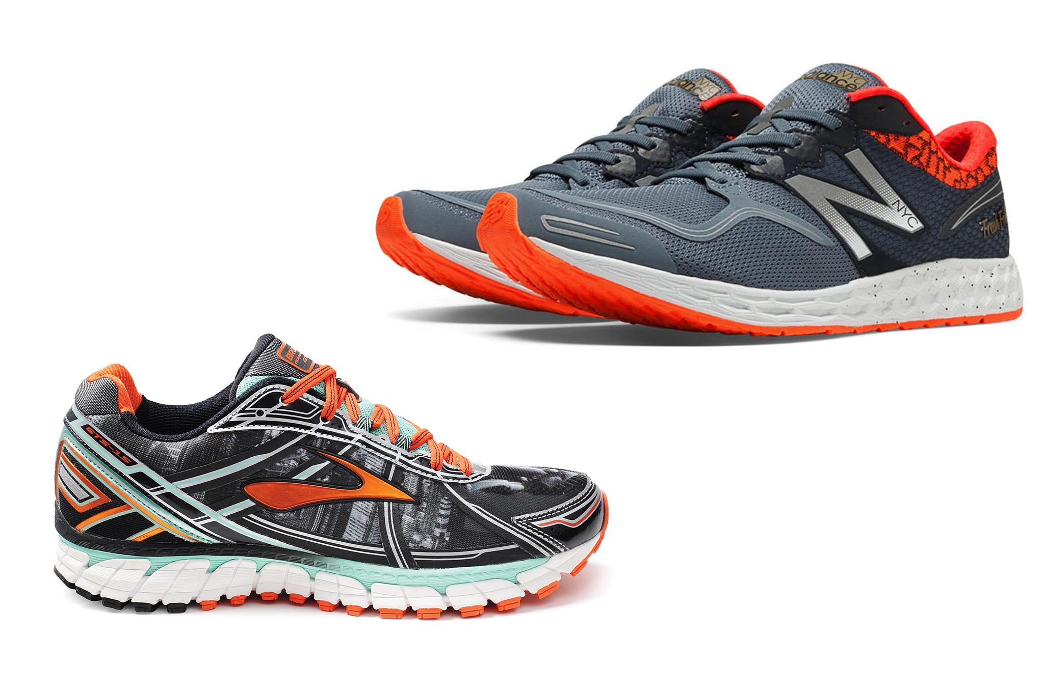 Check out these new running shoes inspired by the NYC Marathon
