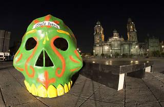 Concurso de ofrendas de Día de muertos en Barrio Alameda