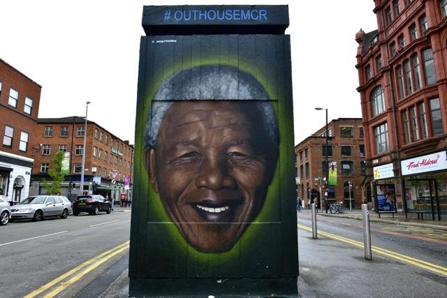 Manchester street art: The Northern Quarter