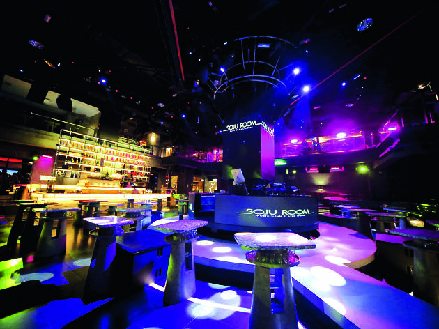 Dance the night away at Soju Room