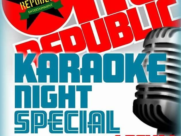 Karaoke Night Special at Republic Bar