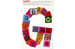 ('Poster for original Graphics RCA: Fifteen Years exhibition', 1963)