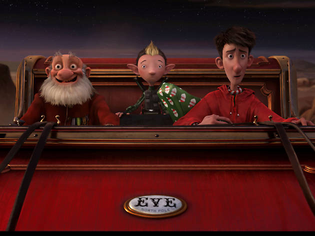 arthur christmas, best christmas movies