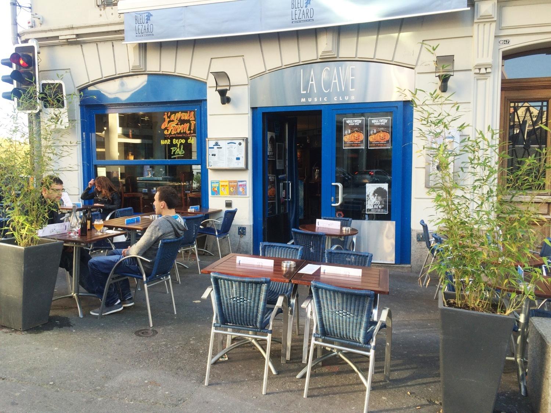 Bleu Lézard cafe Lausanne