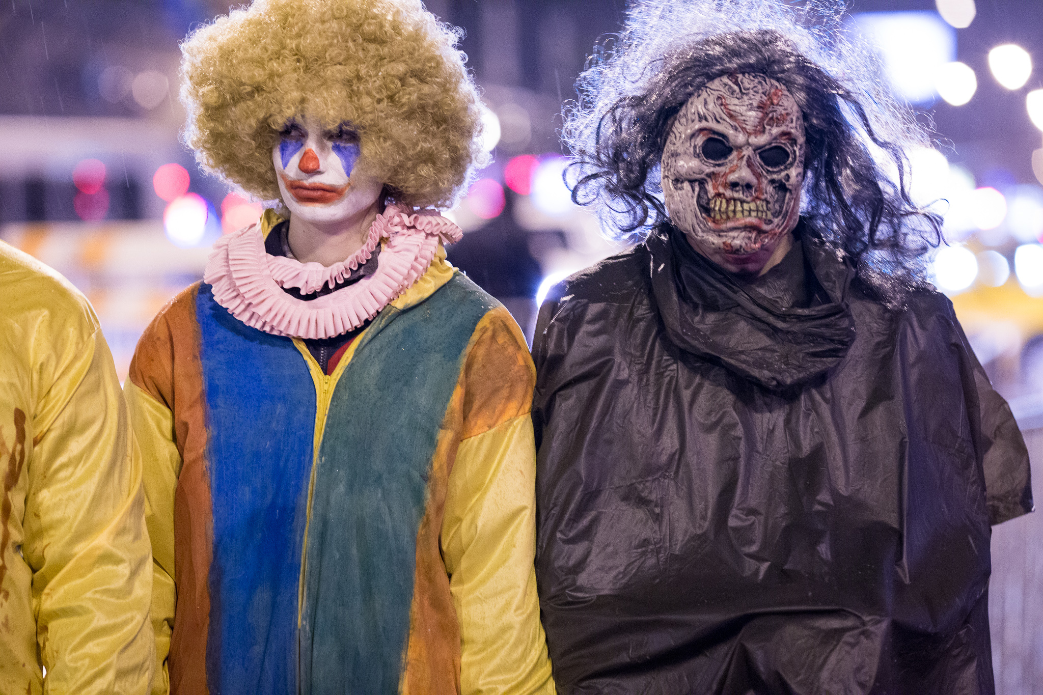 Spooky costumes and clever getups fill the streets of Boystown at the Northalsted Halloween Parade, October 31, 2014.