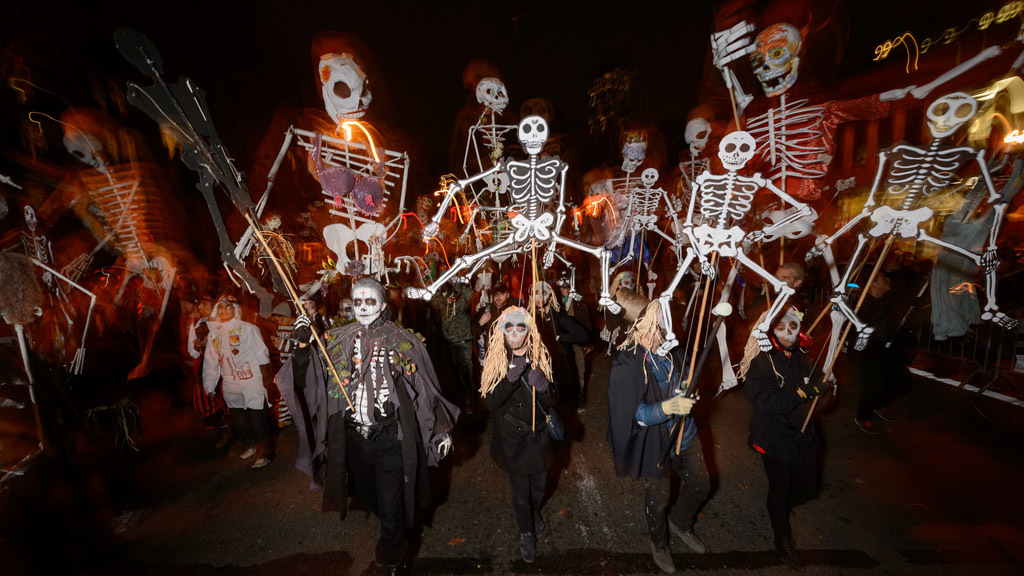 See the most ghoul-tastic photos from the Village Halloween Parade