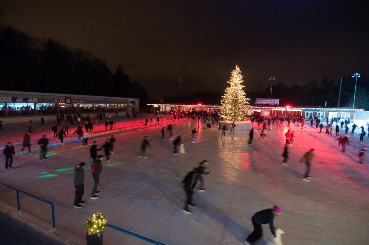 Dolder sports Zurich ice skating