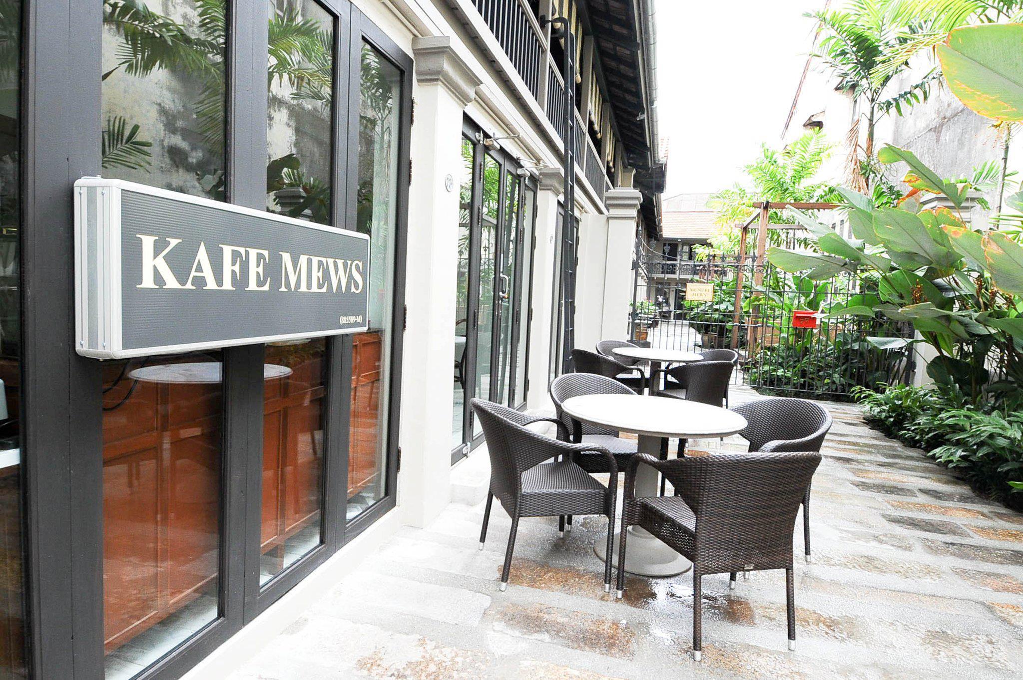 Kafe Mews, Jalan Muntri