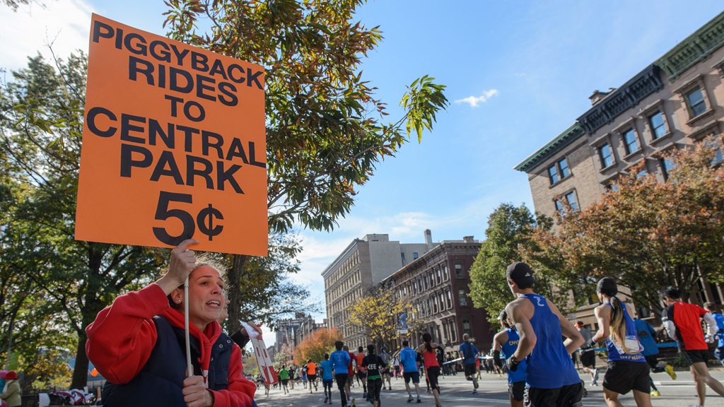 The best signs from the 2014 New York City Marathon