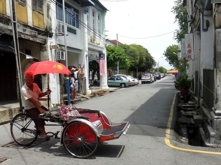 Penang's most popular streets