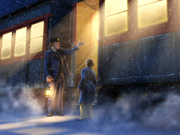 The Polar Express, best christmas movies