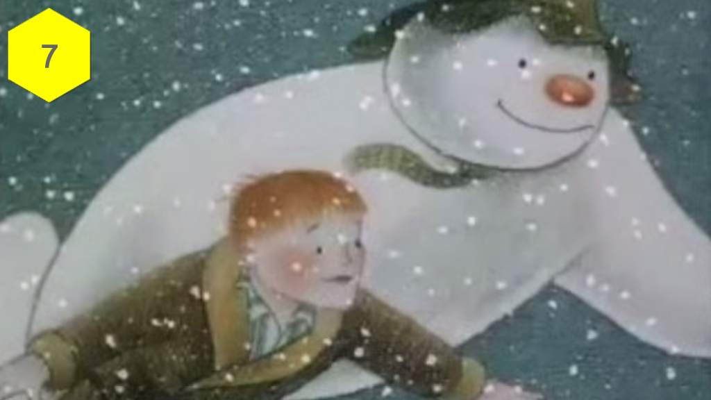 The Snowman, best christmas movies