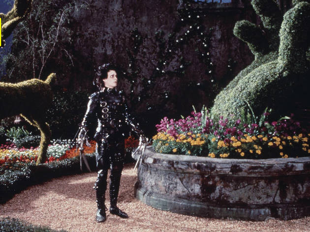 Edward Scissorhands, best christmas movies