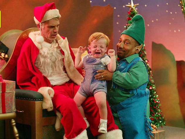 Bad Santa, best christmas movies