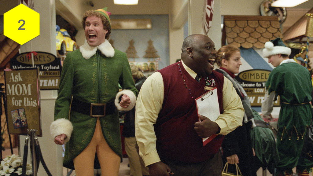 Elf, best christmas movies