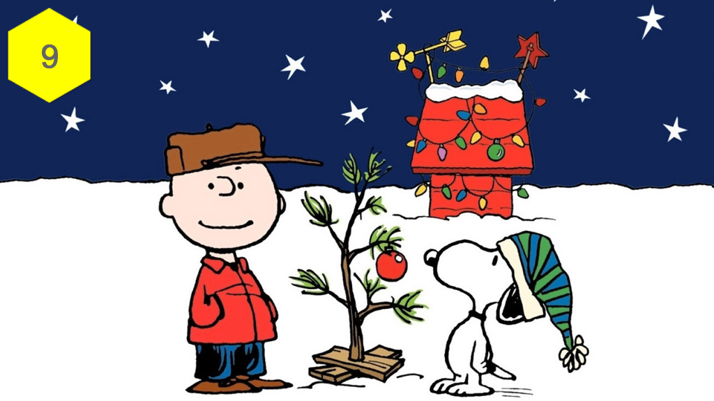 A Charlie Brown Christmas, best christmas movies