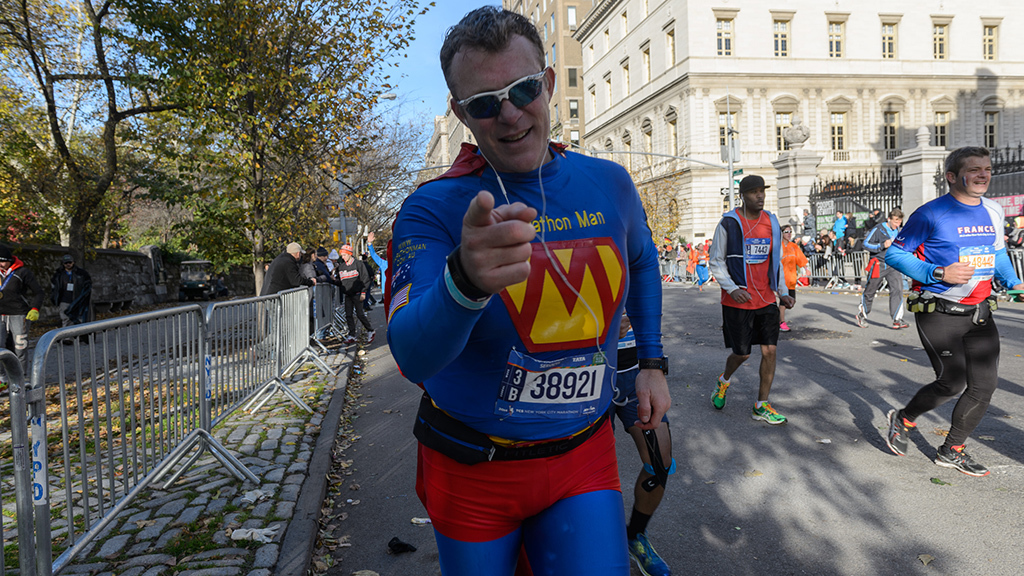 The best costumes from the New York City Marathon