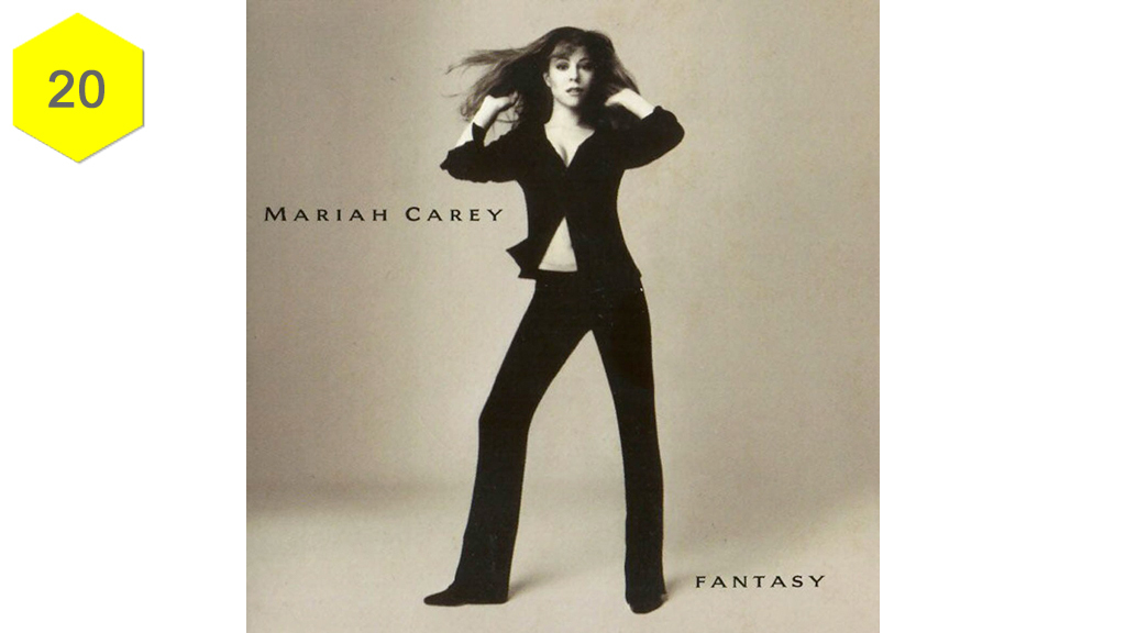 "<h3><strong>&lsquo;Fantasy&rsquo; &ndash; Mariah Carey</strong></h3><p>For all her cartoonishness, Mariah is no dummy, and this Sean Combs-produced track marked a deliberate move towards a more R&amp;B sound for the wonder-warbler in 1995. But what&rsquo;s great about &lsquo;Fantasy&rsquo; is that its sugar-sweet sentiment is completely convincing and beguiling &ndash; an irresistible update on the <a href=""https://www.youtube.com/watch?v=-9d9FA3fCf4"" target=""_blank"">1981 Tom Tom Club single</a> it samples so liberally. <em>Sophie Harris</em></p><p><iframe src=""https://embed.spotify.com/?uri=spotify:track:6xkryXuiZU360Lngd4sx13"" frameborder=""0"" width=""660"" height=""80""></iframe></p>"
