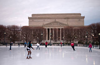 National Gallery of Art Sculpture Garden Ice Rink