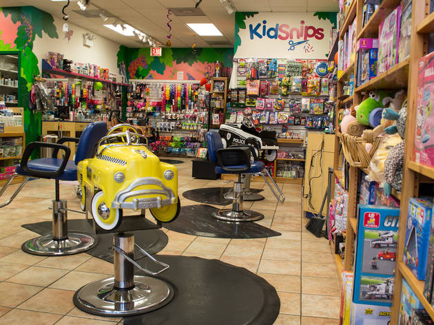 Kids hair salon, Kid Snips