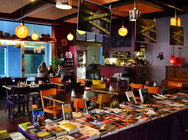 Les Recyclables bookshop cafe Geneva