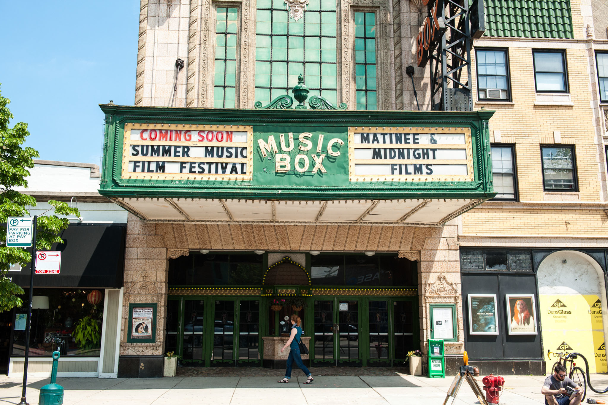 The Music Box Theatre is reopening with limited capacity screenings