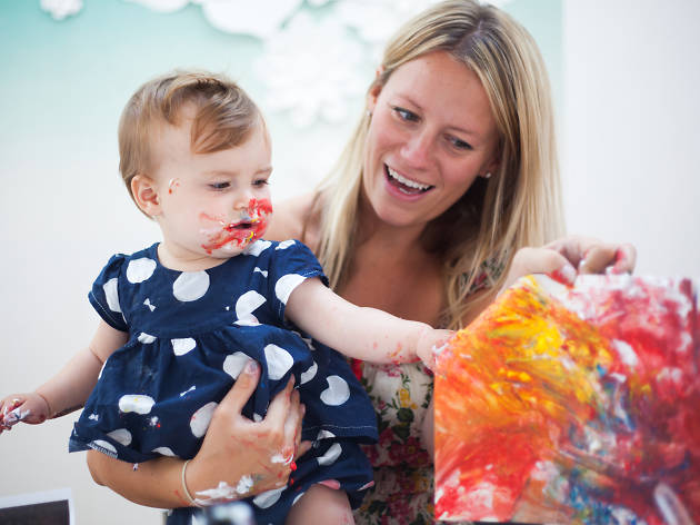 Children's art sessions at Dulwich Picture Gallery