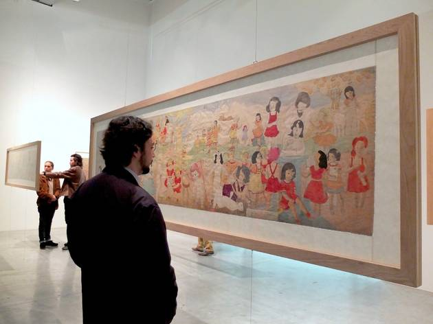 (Vue de l'exposition 'Collection ABCD / Bruno Decharme' (Henry Darger) / Photo : © TB / Time Out)