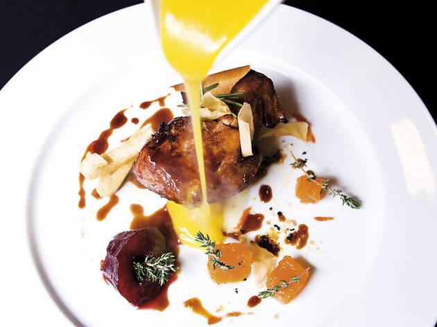 Foie gras amb moniato