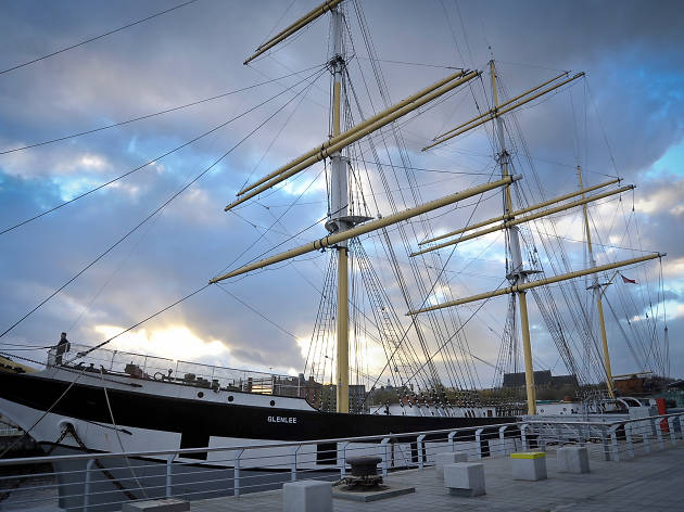 The Tall Ship at Riverside, Museums, Glasgow