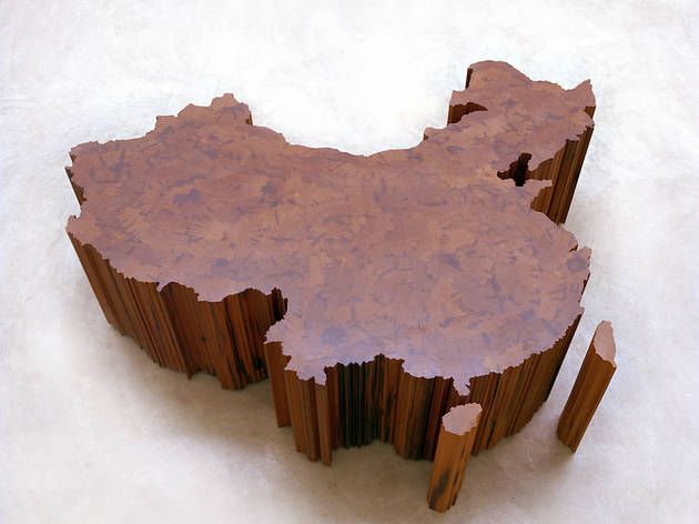 China, in dynastic wood