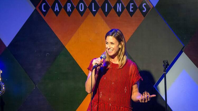Carla performs at Carolines